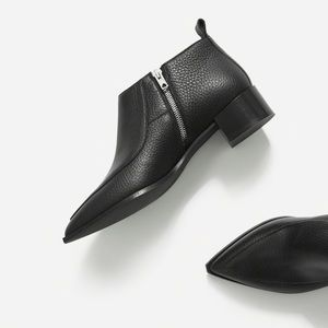 Everlane bootie leather size 8
